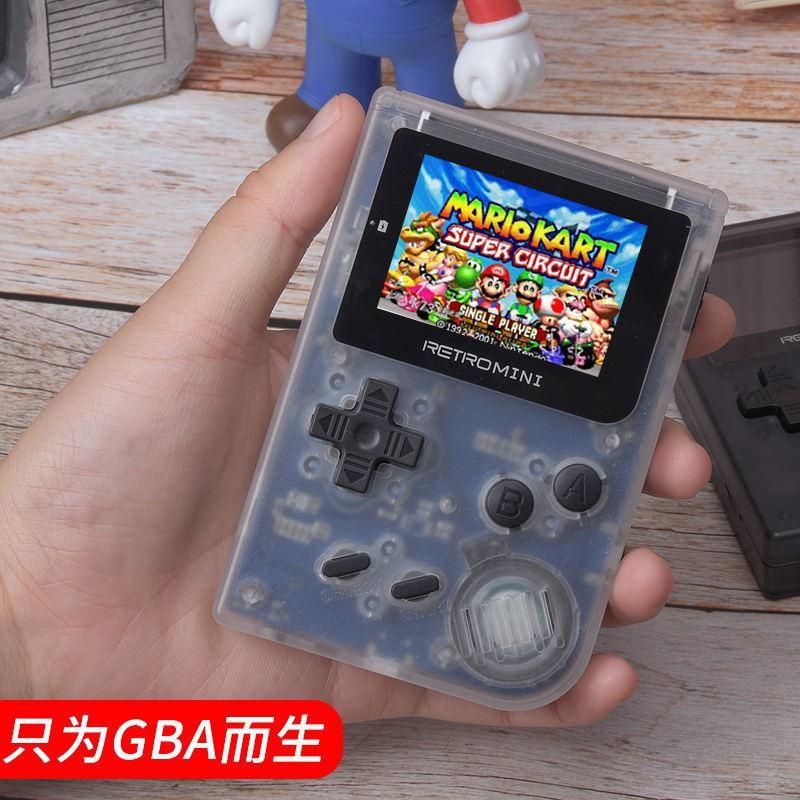 玩逗貓復古GBA掌機retro mini游戲機掌上口袋妖怪懷舊NES任天堂Q8