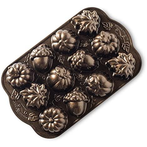 ~❤美國寶寶的衣櫥❤~(現貨)美國製Nordic Ware Autumn美國諾迪威 秋天橡實烤盤 12連烤模