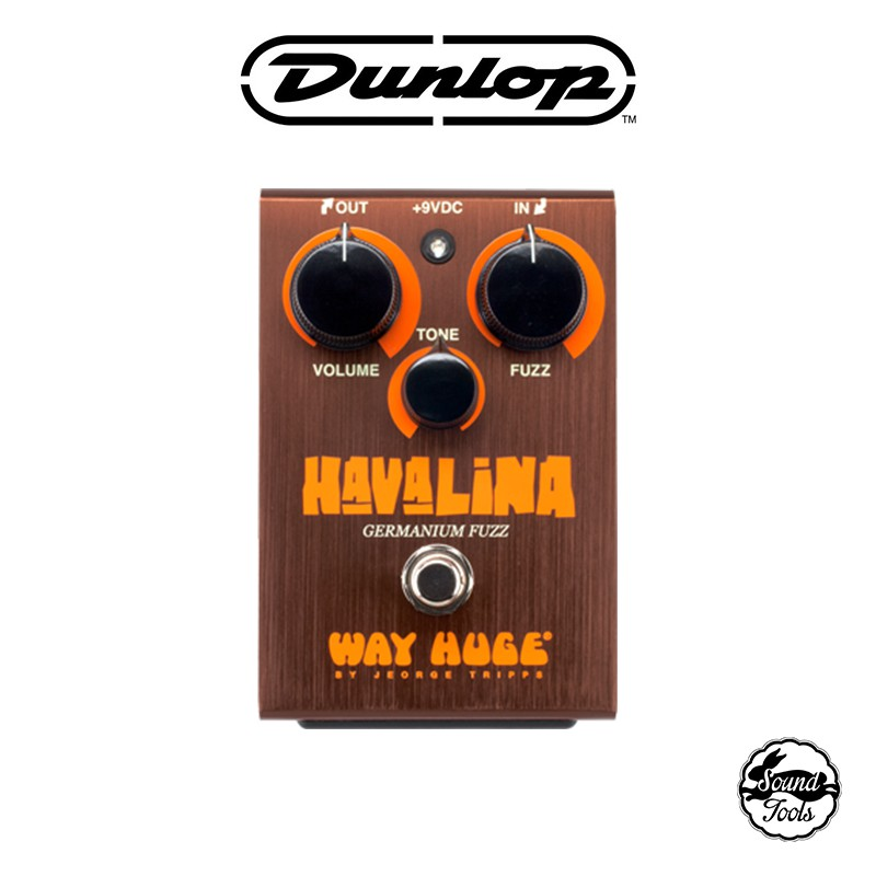 Dunlop Fuzz效果器 Way Huge Havalina Fuzz WHE403【桑兔】