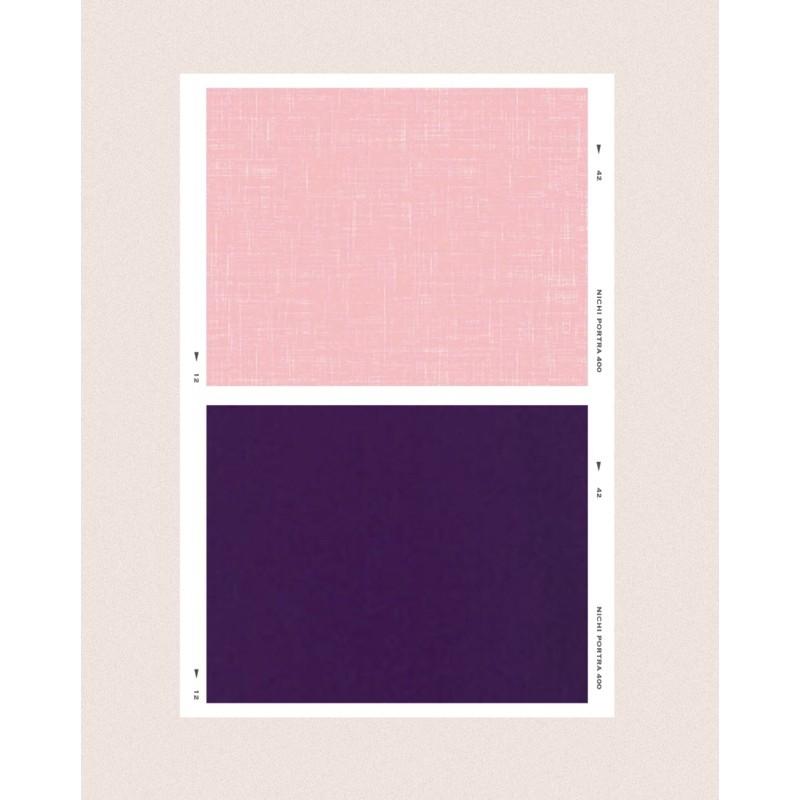 萊  潔。丹寧牛仔玫瑰粉+夜霓紫