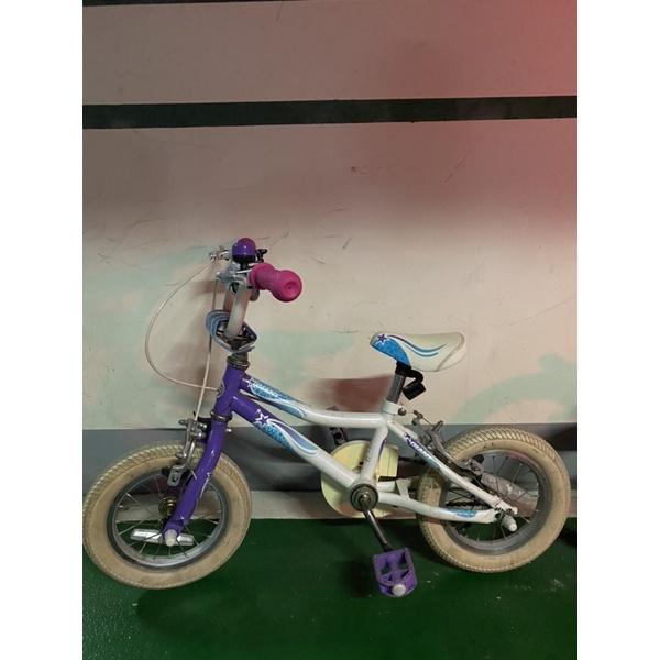 二手捷安特14吋腳踏車有附輔助輪