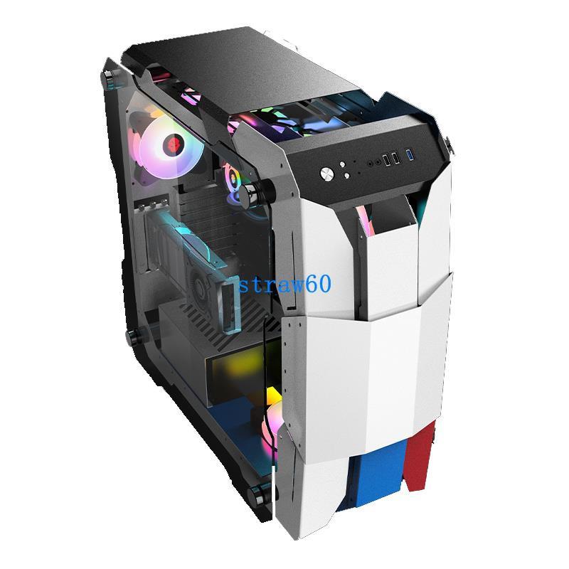 玩嘉勇士臺式電腦機箱豎插顯卡支持RTX3070 RTX3080 RTX3090機箱
