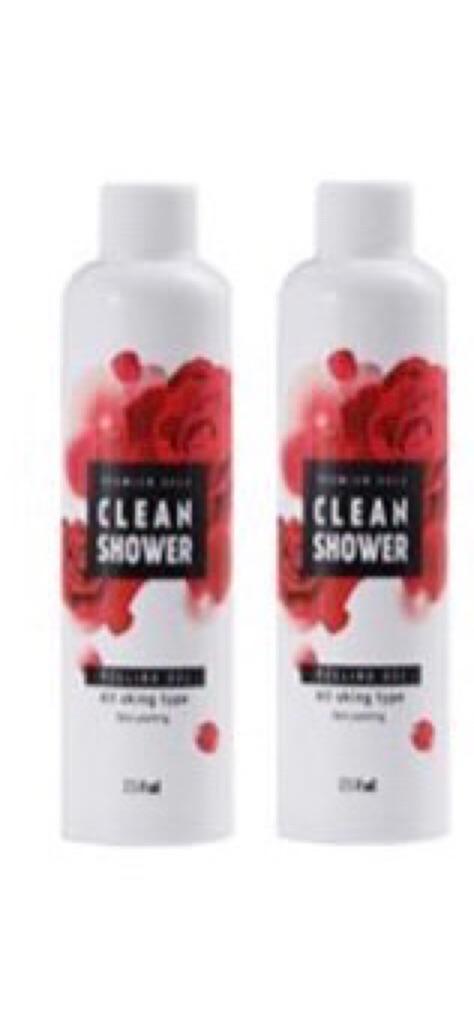 韓國Premium Cleanshower噴霧式全身去角質(無噴頭)