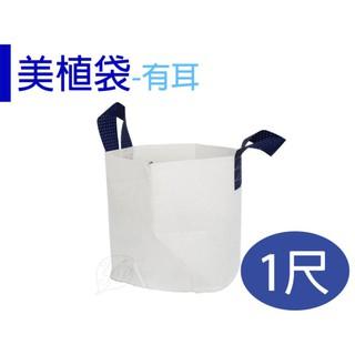 【醬米資材】移植袋 美植袋 透氣排水性佳 / 1尺(有耳) 桃園市
