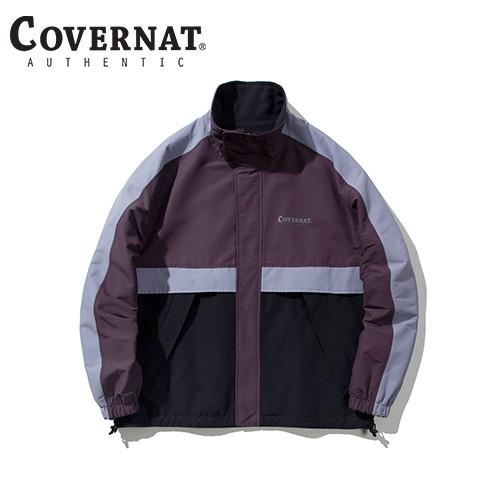 [COVERNAT] 20秋冬 雙面多功能防風外套(深紫)