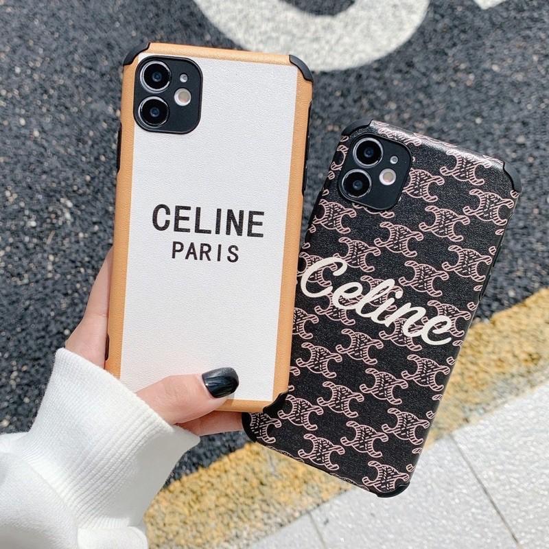 🔸預購款🔸IPhone手機殼📱蠶絲紋CELINE