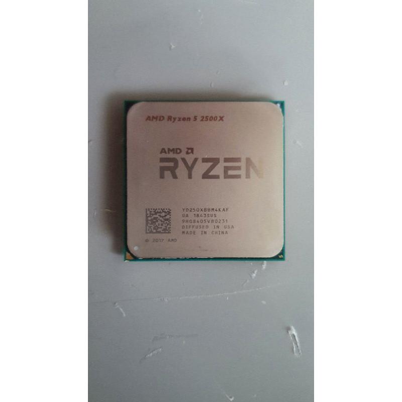 R5 2500 X Ryzen5 2500X(2600 3100 3300參考)4C8T CPU 無歪針腳 正常使
