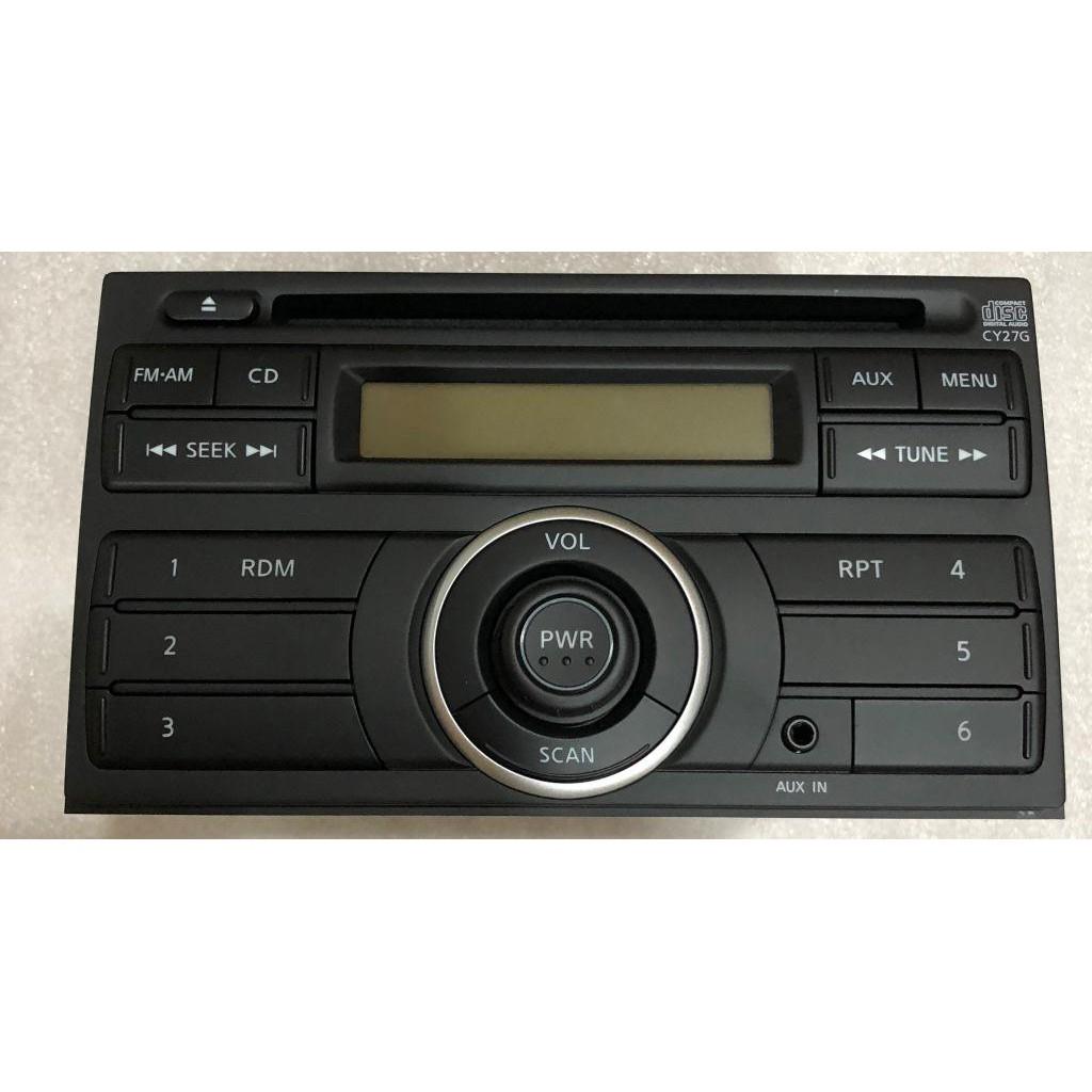 車酷中心 NISSAN Clarion 歌樂 單片CD AUX 原廠主機 568