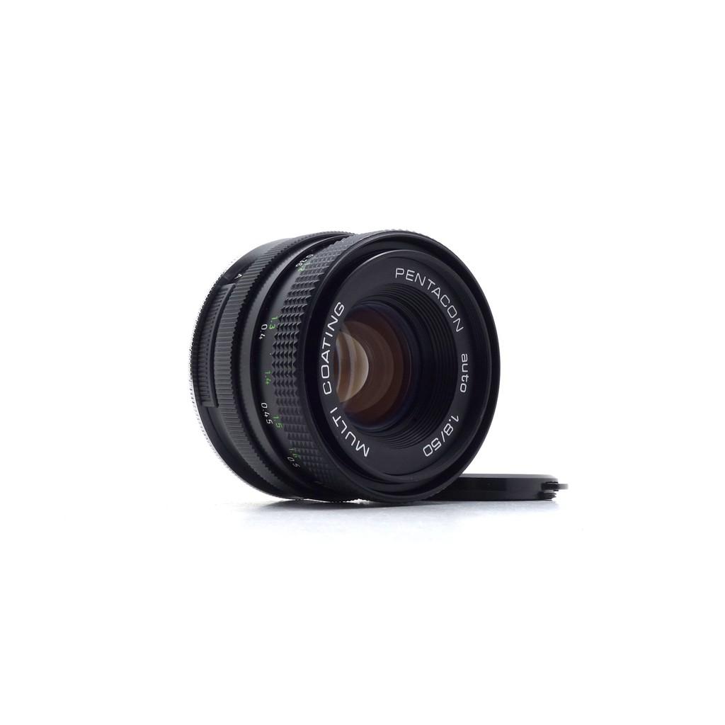 【曼尼3C】Pentacon 50mm f1.8 for Canon 二手 定焦鏡 鏡頭 #37704