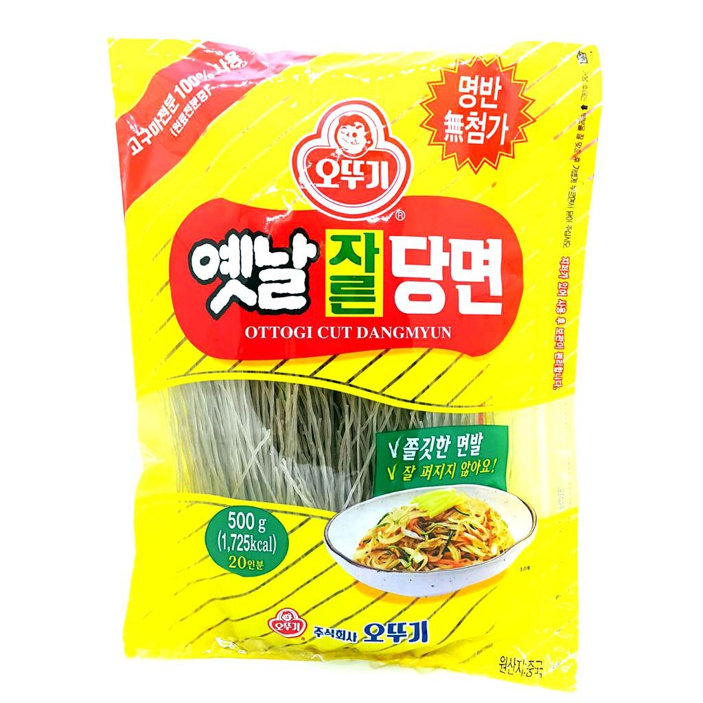 韓國OTTOGI不倒翁韓式冬粉 韓式冬粉 韓國冬粉 雜菜 500G 100G