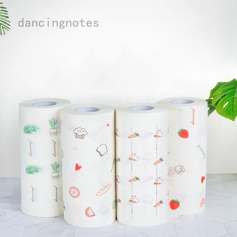創意印花廚房紙吸水吸油紙廚房紙巾隨機圖案