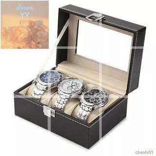高檔pu皮質手錶盒表用搖表器男女自動機械手表收納盒子上鏈器表盒轉表器晃表器虧ins卡通家居裝飾禮物創意YY 桃園市