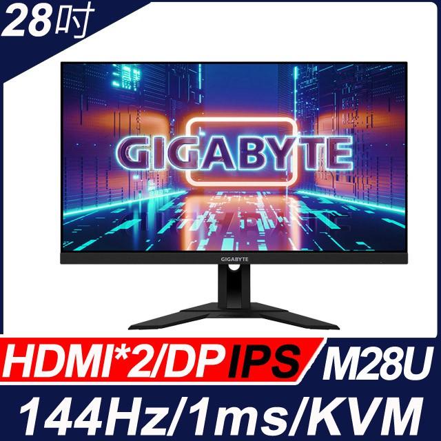 {麻吉熊3C}技嘉 28吋4K KVM電競螢幕 M28U