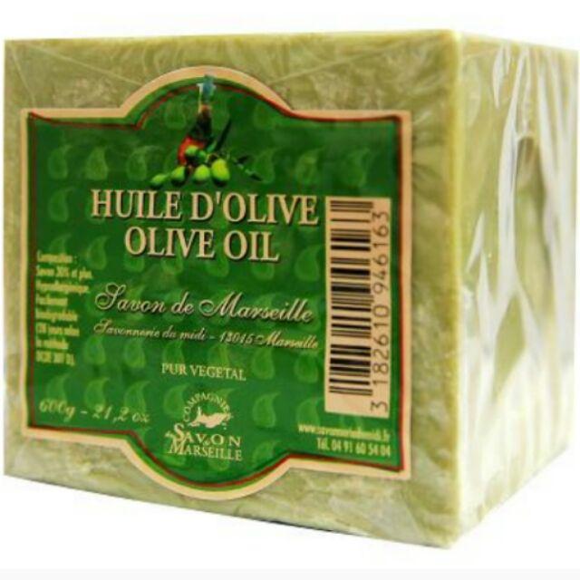 馬賽橄欖方塊皂600g
