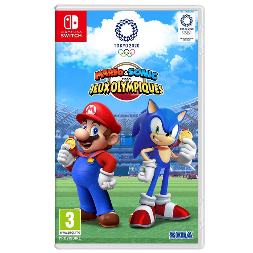 Nintendo Switch 瑪利歐 & 索尼克 AT 東京奧運 2020 音速小子 中文版全新品【臺中星光電玩】