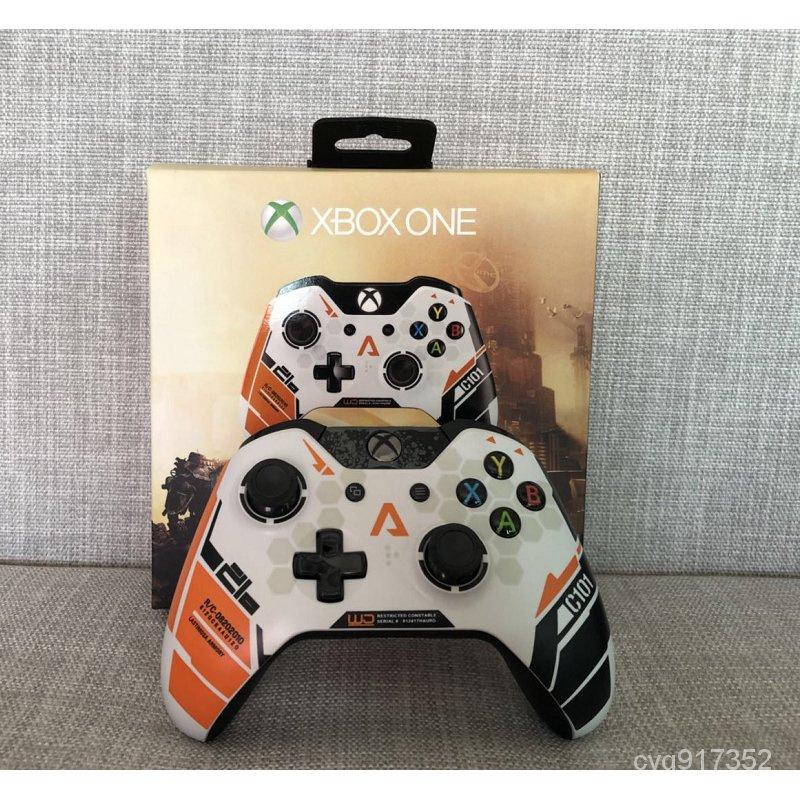 【現貨6折  廠家發貨】泰坦隕落 Xbox one手柄 限量版 無線 有線 電腦遊戲手柄 XBOXONE 手把 控制器