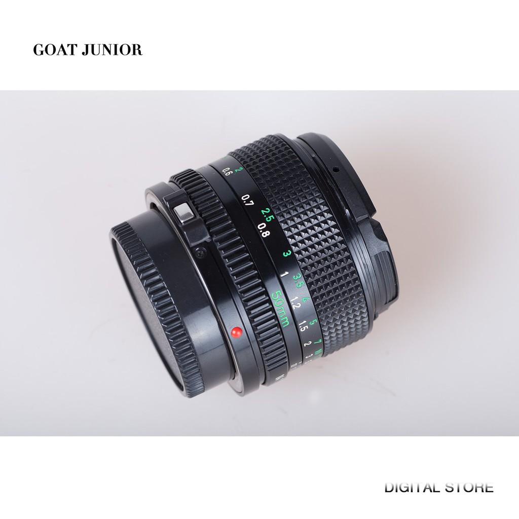 Canon/佳能FD50mm f/1.4經典手動人像定焦鏡頭  佳能FD50 1.4二手