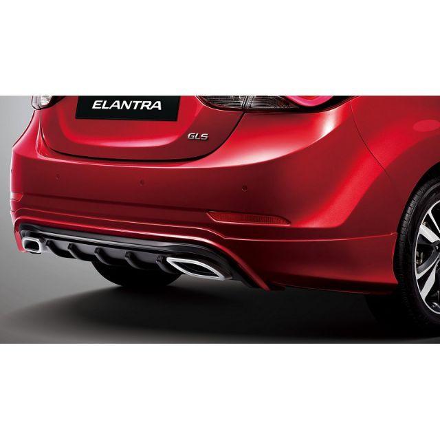 🌀CX汽車精品🌀 現代 ELANTRA EX 撼動 空力套件 大包  後下巴  尾管