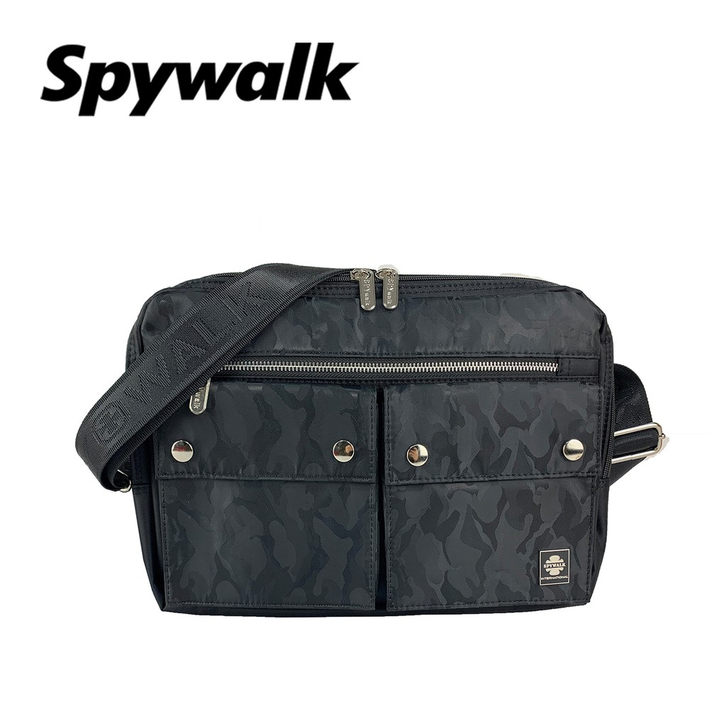 SPYWALK 低調迷彩設計側背包 NO:1706