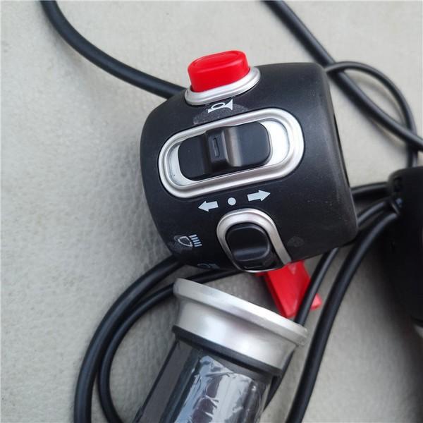 優質電動車開關 電動車改裝開關 電動車轉把 電動車把手套現貨發送