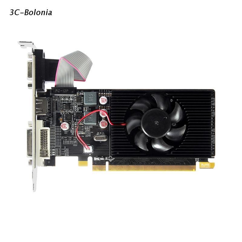 【 Pc 】 Amd Radeon HD6450 1GB GDDR3 64Bit HDMI 兼容 VGA DVI 圖形卡
