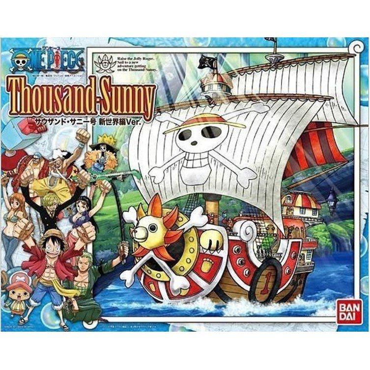 【時尚達人館】現貨 BANDAI 海賊王 ONE PIECE 偉大的船艦 海賊船 千陽號 新世界篇版 附草帽海賊團人偶公