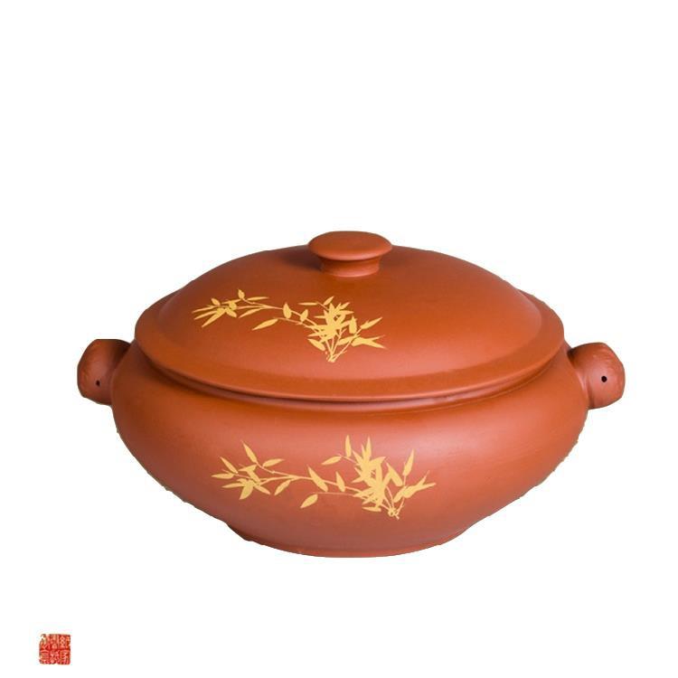 【家用餐具】紫陶汽鍋雞蒸鍋云南建水紫砂陶瓷氣鍋鍋子燉湯鍋砂鍋  特價包郵