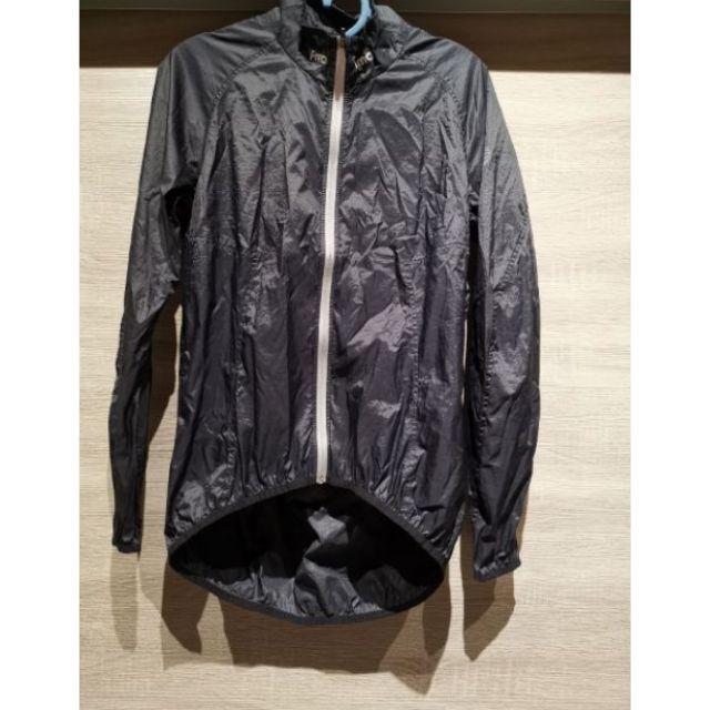FMA全新/黑色風衣外套/自行車外套/L