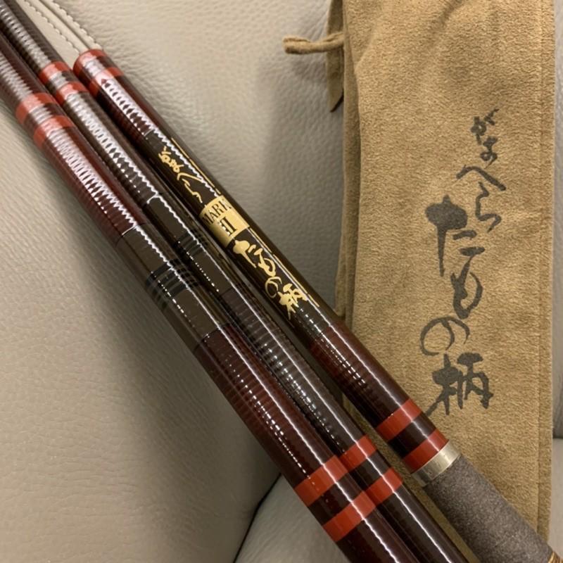 伽瑪卡茲 Gamakatsu Hera Mark2 玉柄 日本🇯🇵製 並繼竿 鯽魚竿
