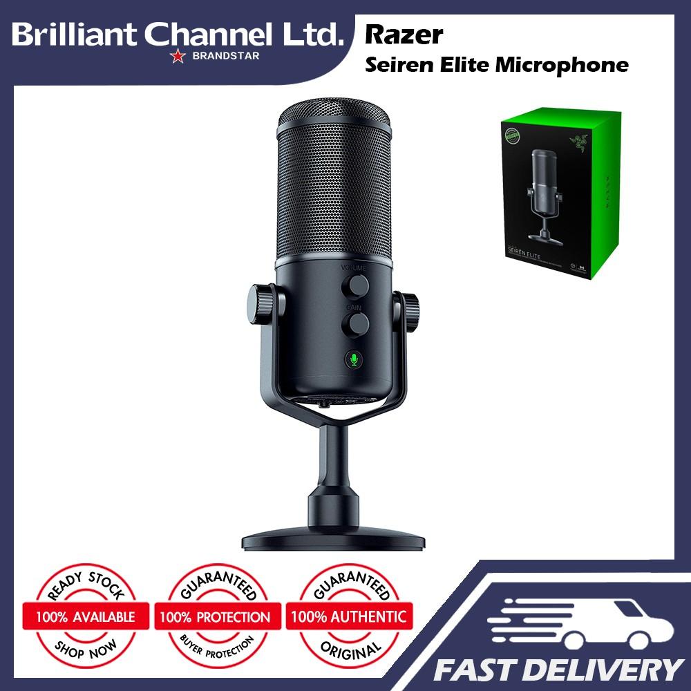 Razer雷蛇 Seiren Elite 數位麥克風 Microphone (RZ19-02280100-R3M1)
