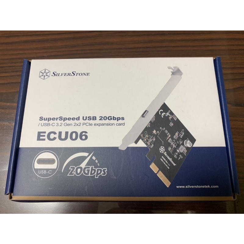 銀欣 SilverStone ECU06 USB 3.2 Gen 2x2 Type-C PCIe 擴充卡