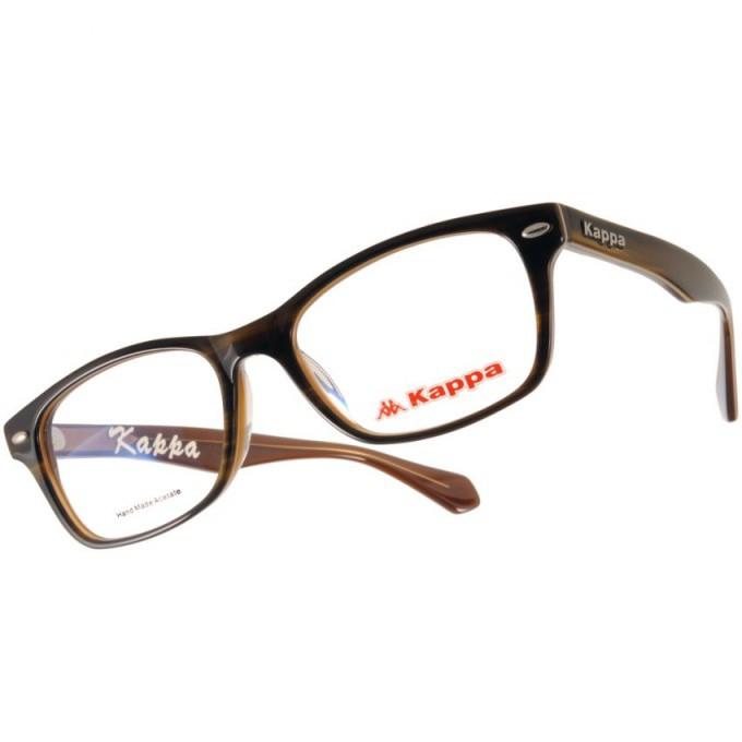 KAPPA 光學眼鏡 KP1036 FBW3 時尚風格方框款-金橘眼鏡