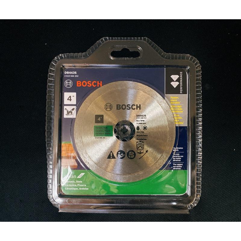鑽石鋸片|Bosch 博世 標準 連續邊 鑽石鋸片 105*20 16mm 厚度 1.6mm 磁磚 石材 玻璃 (含稅)