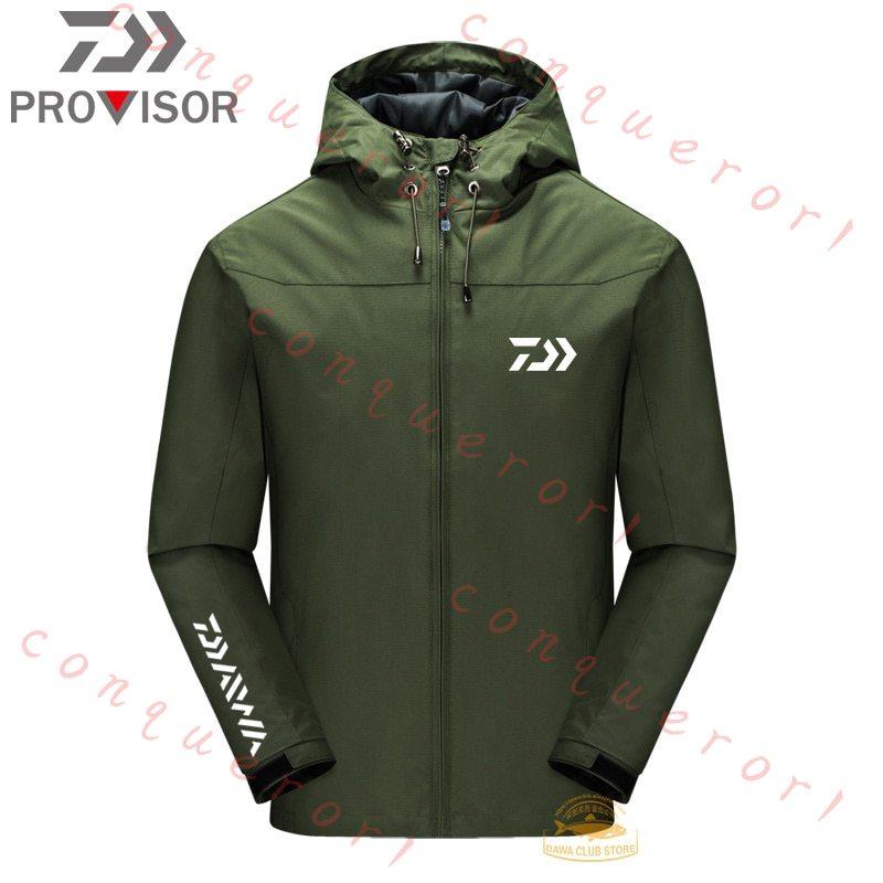 【現貨】DAIWA新款防水外套 連帽 防風 防雨 透氣 舒適 釣魚服 雨衣