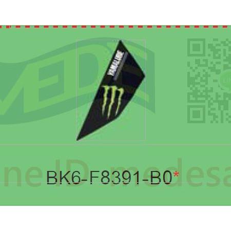 ~MEDE~ R15 V3 V.3 R155 MONSTER 特仕版 貼紙 車頭 左貼紙 BK6-F8391-B0