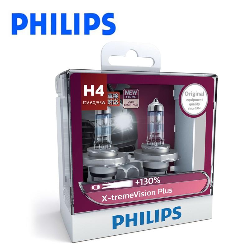 PHILIPS 升級型車燈 夜勁光X-tremeVisionPlus(公司貨)送PHILIPS壓舌帽