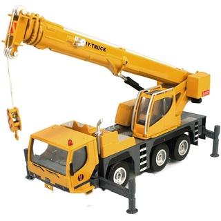 【汽車模型現貨】華一 HY TRUCK 1:50 1/ 50 吊車 起重機 模型 工程車 金屬模型 合金模型