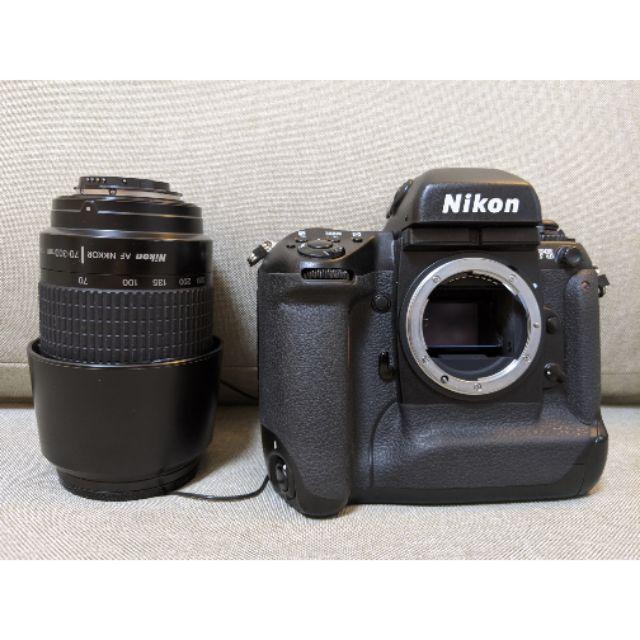 二手 [Nikon F5 底片機] + [Nikon AF NIKKOR 70-300mm鏡頭] 無盒