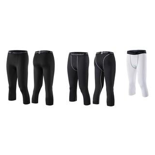 緊身七分褲 籃球壓縮褲 三色可選 跑步 健身 瑜珈 籃球 壓縮褲 束褲 內搭褲 7分褲 運動褲 2XU CW-X 可參考 台中市