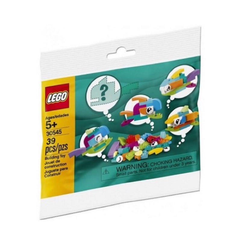 樂高 LEGO 30545 小魚 Fish Free Builds Polybag