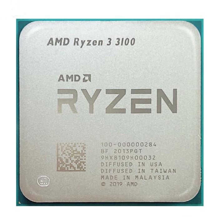 Amd Ryzen R3 3100 3.6 GHz 四核八線 65W CPU 處理器 L3 = 16M 插槽 AM4