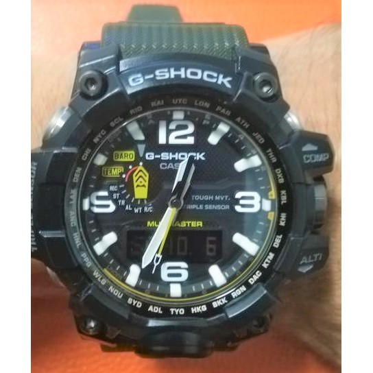 [ 實裝圖 ] 手錶鋼化膜 可用於 CASIO G-SHOCK GWG-1000-1A3  CASIO GWG-1000