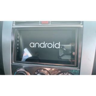 通用型 七吋 Android 安卓版 2DIN 觸控螢幕主機導航/ USB/ 電視/ 鏡頭/ GPS/ 藍芽