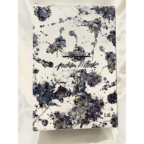 Be@rbrick Jackson Pollock Splash 400%+100% 潑墨 現貨!