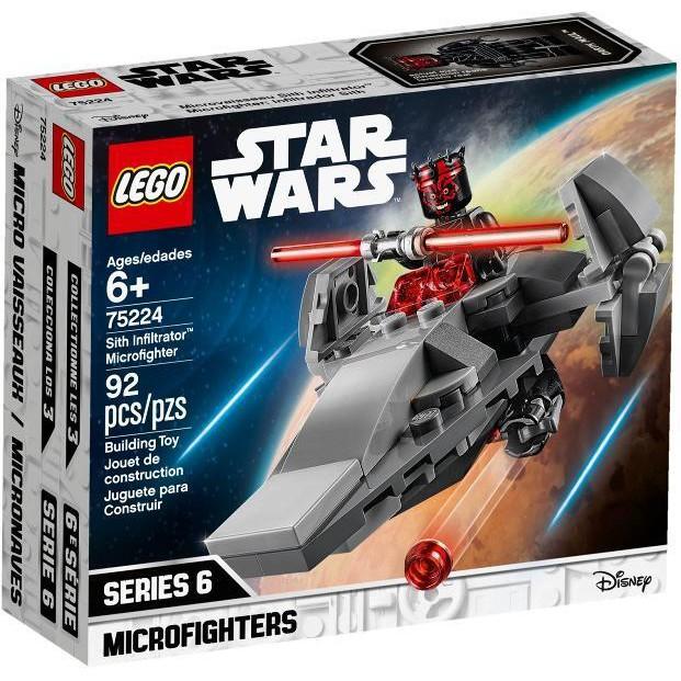 全新樂高 LEGO   75224  西斯滲透者微型戰機  現貨