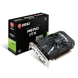 微星 GeForce GTX 1050 Ti AERO 4G OCV1 顯示卡