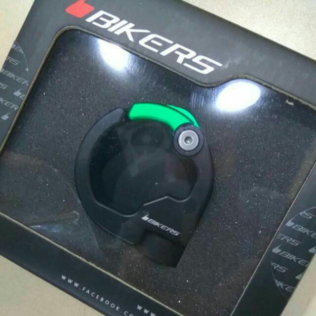 BIKERS 前置物掛勾 VESPA GTS車系專用 消光綠色
