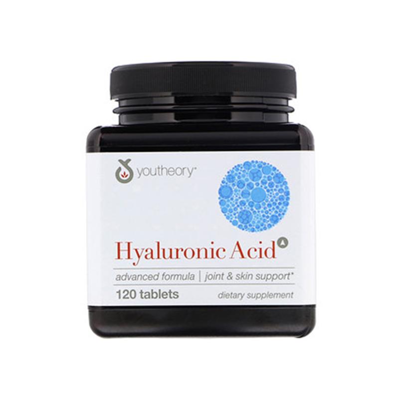 美國Youtheory透明質酸Hyaluronic Acid玻尿酸100mgAdvanced