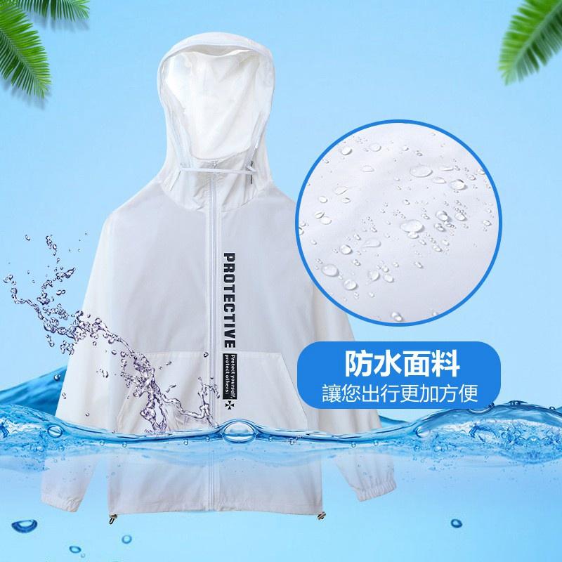 新型旅行防護服 夾克旅行防疫防護服 情侶男女 單層 透氣 防水 防塵 防滴隔離外套 可拆卸水洗防護必備#21