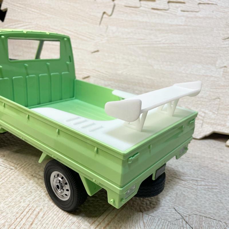 《賽峰模型》D12  頑皮龍 鈴木小貨車 改裝 光固化 尾翼 大尾翼